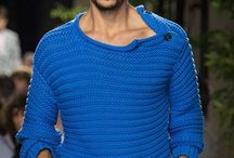 Men knitted fashion