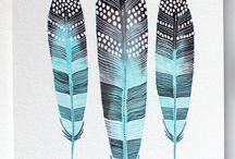 Feathers Fins and Leaves