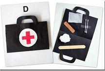 Medico, dentista / Botiquin y varios
