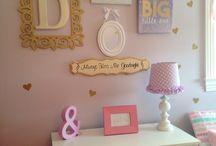 Baby girl decoration