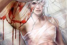 12 / a shelved YA sci-fi horror novel
