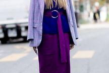 Ultra Violet - Trendfarbe 2018 / Ultra Violet ist die Trendfarbe 2018 für Mode und Interior.