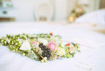 Couronnes de fleurs / bracelets fleuris