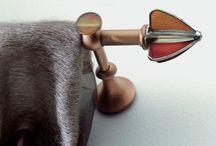 Collezione Tiffany ø18 mm in vetro di Murano / Bastoni per tende e accessori Curtains systems and accessories