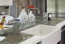 KALLISTA IN THE KITCHEN / Kitchens featuring KALLISTA's modern function and beautiful aesthetic.