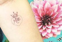 Ideias de tatuagens MÃE