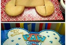 Paw patrol party 3 yo
