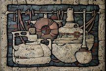 kamień, mozaika