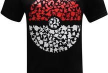 Pokemon Go Men's T-Shirt / Gotta wear em' all! Show your Pokemon pride! Make Ash and Pikachu proud. Exclusive Pokemon shirts sold only at teesgeek.com
