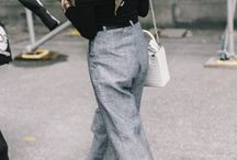 Street style casual smart