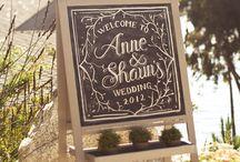 Wedding :: Signs