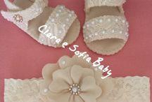 sapatos bebês