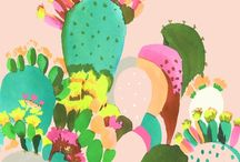 dibuixos de flors i plantes