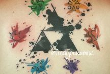 Legend of Zelda / Ideen rund um Triforce/LoZ-Tattoos