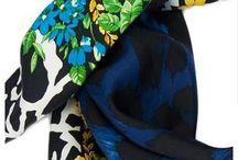 Versace Silk Scarf – Blue Floral Safari / Stylish Versace Silk Scarf – Blue Floral Safari  Available for sale online at only $130 http://www.foulardworld.com/versace-silk-scarf-floral/ #versace #silkscarf #floral