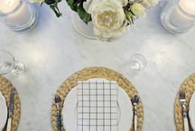 Beautiful table / #Tableware, #tablestyling, #flowersstyling,