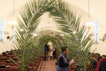 Palm Sunday Decorations for the Church