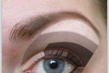 Hooded eye Make up