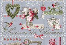 Madame La Fee cross stitch