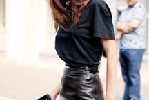 Leather skirts / by Darcey Supelli