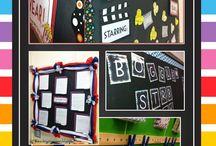Bulletin Board Ideas / Ideas that I can use for bulletin boards at school  / by Alli Barlik