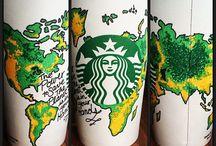 starbucks cup art*