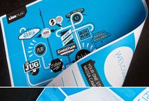 print design / Inspirations in print design - brochures, annual reports, business cards, posters, bilboards...