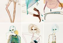 Fashion Illustration 패션일러스트 / Fashion illustration
