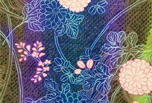 Oriental Japanese Fabric / Gorgeous oriental delights