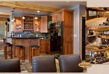 Rustic Recreation - Showplace Cabinets / Pendleton Inset and Pendleton Door Styles