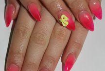 Nails / Nail polish colors / designs / by Tatiana Smith