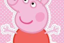 Peppa pig / by Wilma Bague