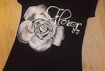 by Zuzy...Flower / Ručne maľované tričká a a aj iné textilné vecičky vyrábam na objednávku.
