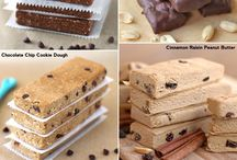 Protein bars/sweets/meals
