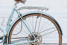 Bicicletta color cielo