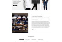 NEVEDA - Stylish PSD Template for Fashion Webshop / Neveda can be seen as a perfect PSD eCommerce template to start your own fashion store website for your clients. This template features flat UI with bright backgrounds and saturated button colors for emphasizing contrast.