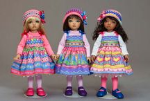 Dolls: Child / Dolls with facial features of a young child