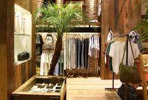 Loja de roupas / Arquitetura de interiores