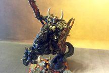 Archaon the everchosen / #archaon #everchosen #chaos #endoftimes #warhammer #fantasy