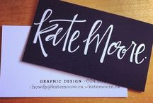 Logos and business card designs