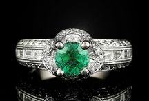Vibrant Green Emeralds / by The Castle Jewelry Discounters of Diamonds and Fine Jewelry