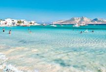 Koufonisia / Paradise islands in the Cyclades islands group in Greece.