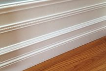 Moldings, Trims, Casings & Chair Boards