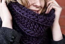 Snood / Snood scarf knitting winter 2014/2015