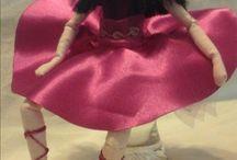 Le Giuline / bambole di pezza, ballerine di stoffa, bomboniere Prima Comunione