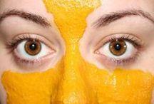 masque epilatoire curcuma