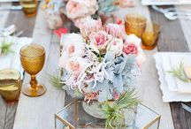 Centerpiece + flowers