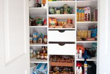 Under stairs pantry/book nook ideas / Converting the cupboard under the stairs into a great usable space