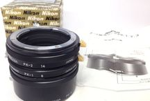NIKON PK-1 PK-2 PK-3 Auto Extension Ring for Non Ai Nikon SLR Cameras Box Manual #Nikon