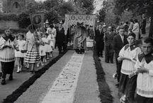 Processies / Asselt , Processie Limburgse Land- en Tuinbouwbond 1959